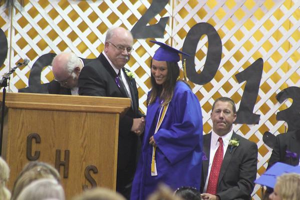 Central High Graduation Class of 2013