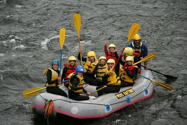 Rafting på Voss (Juniorgruppen)