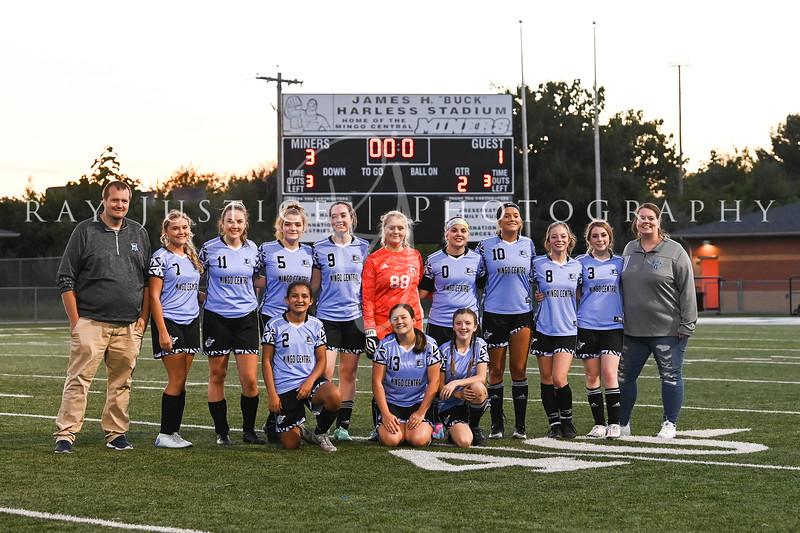 09/02/2021 Mingo Central Girls Soccer vs Pikeview