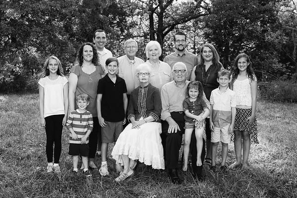 Rick and Brenda O'Halloran Family 2017