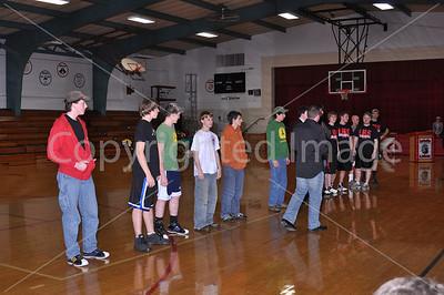 La Moille High School HOOPLA!  Jan. 13, 2010