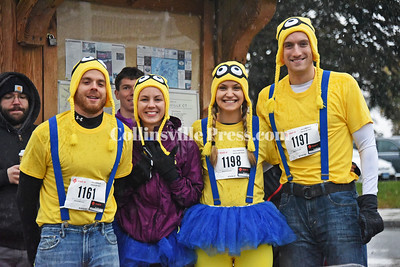 Collinsville Trick or Trot road race