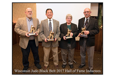 2018 Wisconsin Judo Black Belt Hall of Fame Dinner