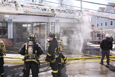 Boston. MA - 4th Alarm, 126 Harvard Street, 3-27-13