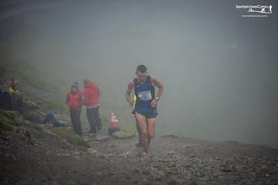 Ras y Wyddfa - Allt Goch ascent at 3.5 Miles