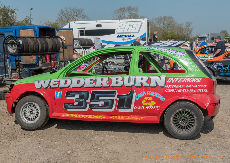 1. Brisca F2`s, 2l saloons, Stock Rods 19-4-19