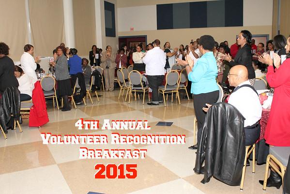 2015 Volunteer Breakast