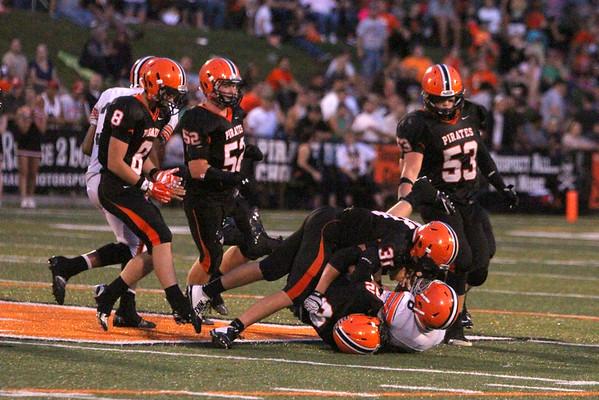 01 Football:  Ironton at Wheelersburg 2014