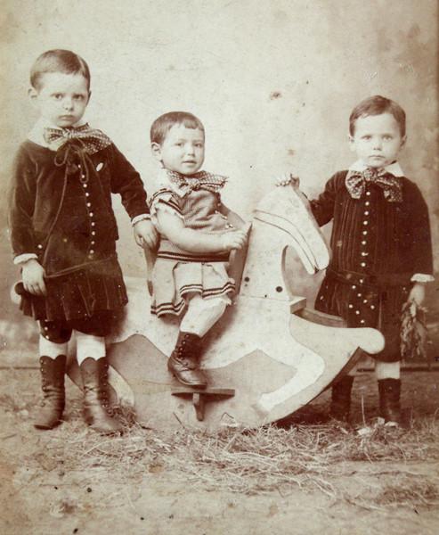 Bernhart, Dagobert and Wilhelm David