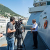 Hms Dauntless spends Election day in Gibraltar