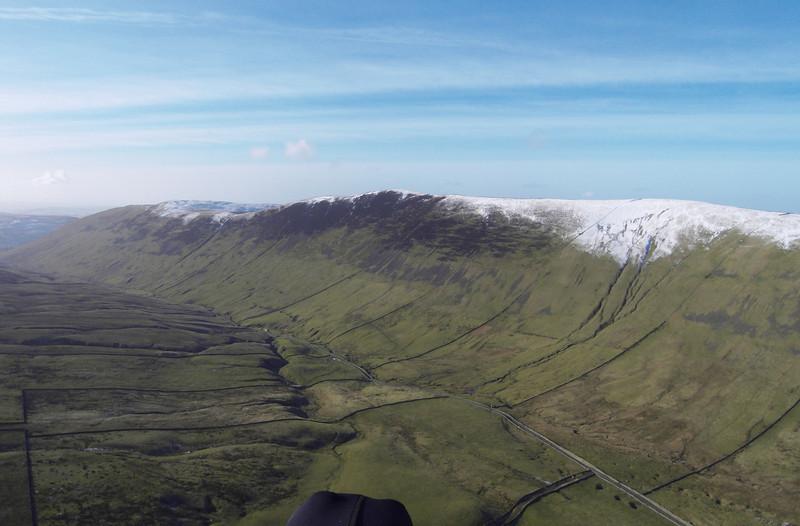 Looking south along the Barkin ridge line.