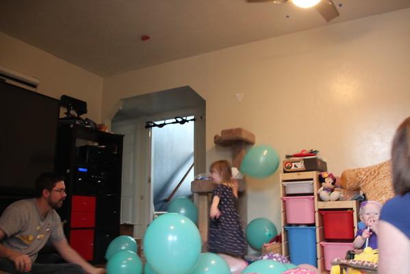 Audra's First Birthday