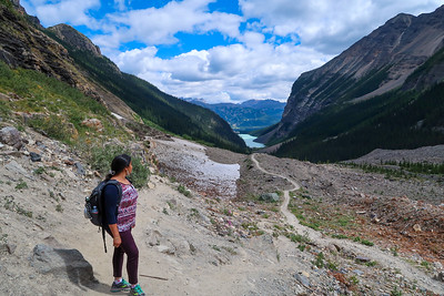 Plain of Six Glaciers Hike (August 2017)