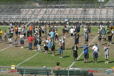 2003 Rehearseathon Helix High School band