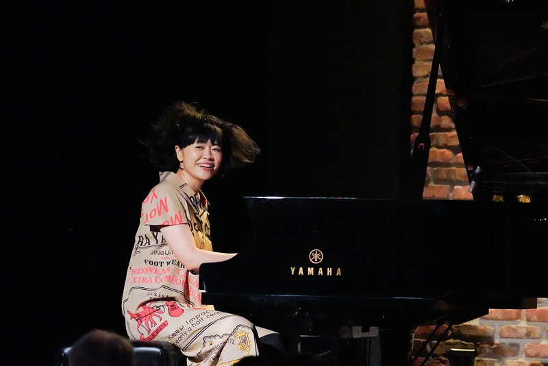 Hiromi at City Winery on October 15, 2019