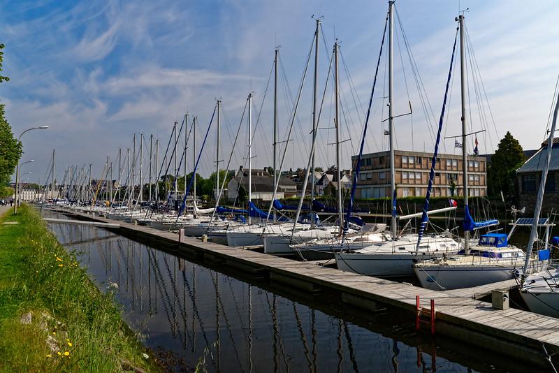 Le port de plaisance de Vannes