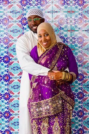 Mujahid Rodnesha Wedding