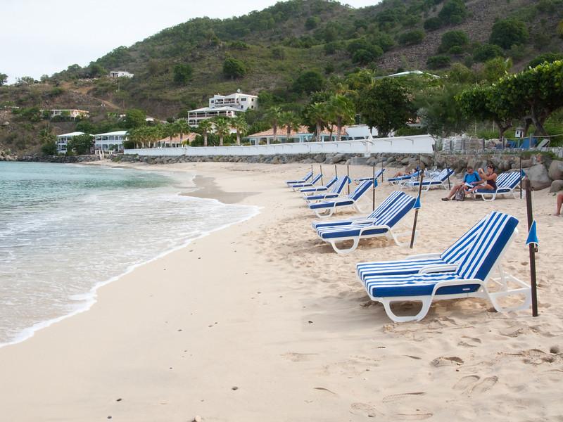 Grand Case Beach Club chairs