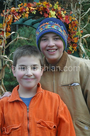 Jim & Mike Hammond Outdoor Portraits - November 22, 2002