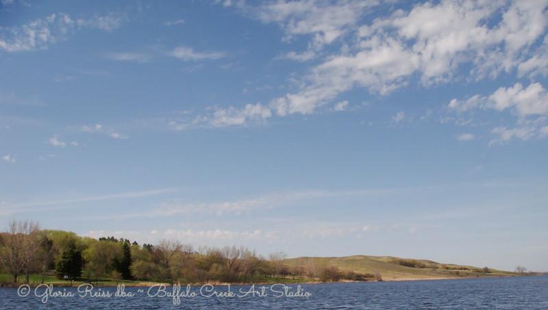 spring on Lake Ashtabula