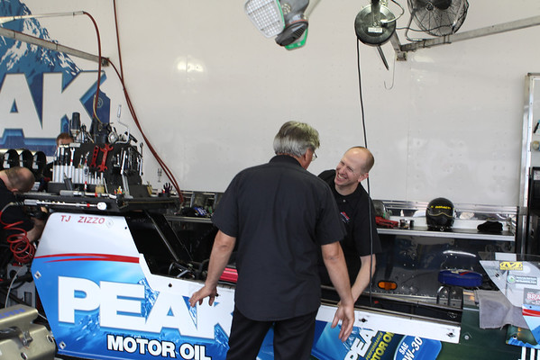 TJ Zizzo Top Fuel Dragster Testing