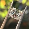 1.83ct Vintage Emerald Cut Diamond GIA F VVS2 35