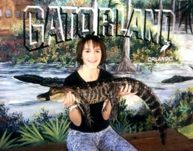 Lauren at Gatorland