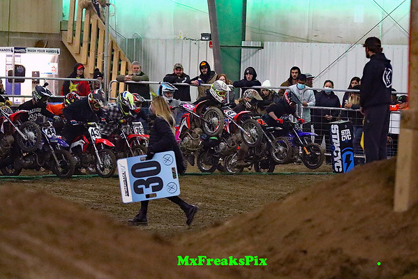 Switchback indoor Pit Bike race.   12/5/20 gallery 1/4