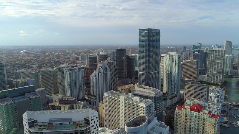 Downtown Brickell aerial
