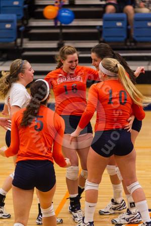 Wheaton College Volleyball vs Augustana