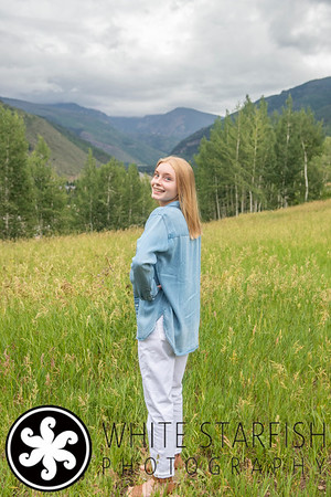Vail Senior Photos - Vail Mountain - Halley