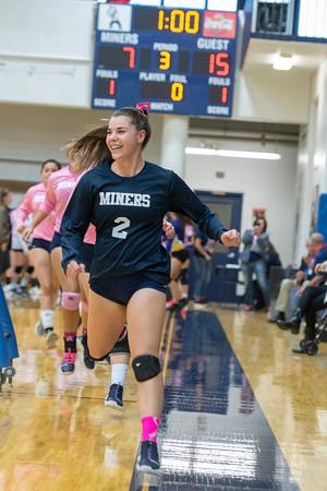 THS Volleyball Win vs. Ellicott 3-0 Oct 2019