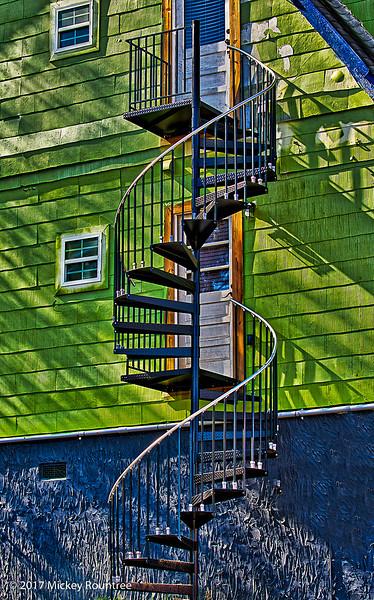 October 31, 2017 Spiral Staircase