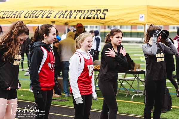 WEHS Track 2018-0407 Verona HS Relay Invitational