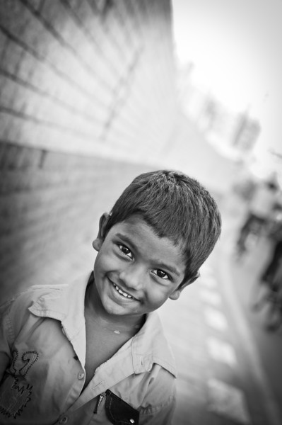 Black and White Portraits From India
