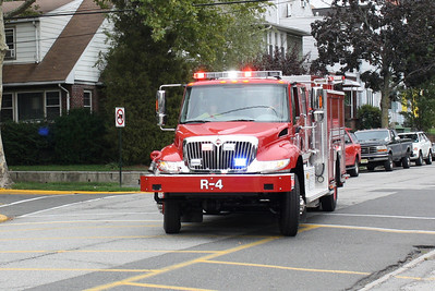 East Rutherford takes new delivery on  there new Rescue 4  9-3-10