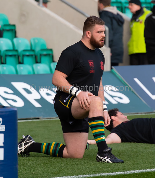 Northampton Saints vs Wasps, Gallagher Premiership, Franklin's Gardens, 17 November 2018