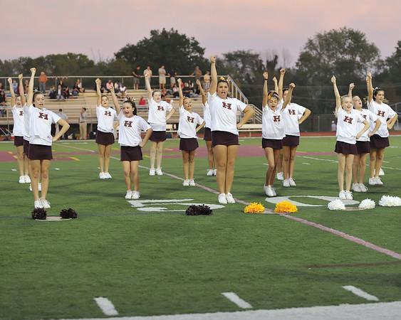 JV Cheerleaders 9-24-11