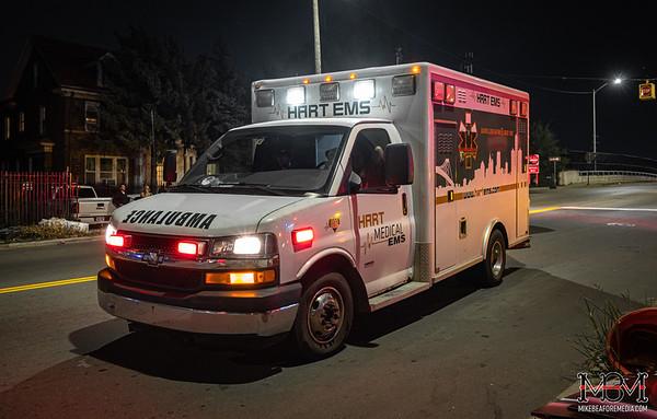 Detroit MI, Rollover Accident 9-27-2020
