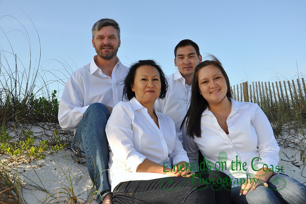 Bernsdorf Family Beach Portraits