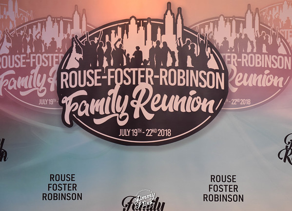 THE ROUSE-FOSTER-ROBINSON FAMILY RE UNION