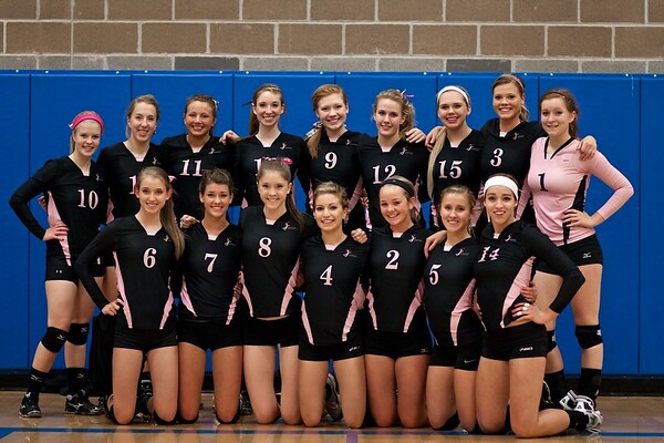 BHS Volleyball v Roosevelt 2011