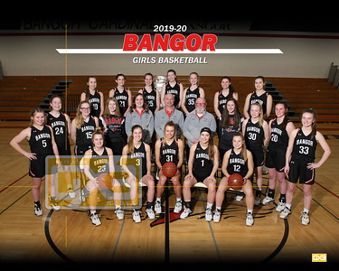 Bangor girls basketball GBB1920