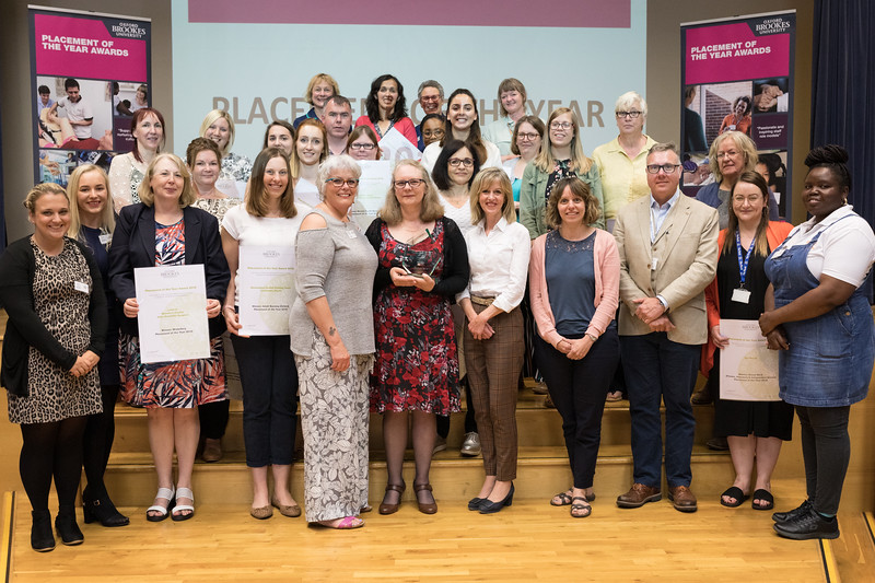 The Winners & Students - Placement of the Year Awards 2019
