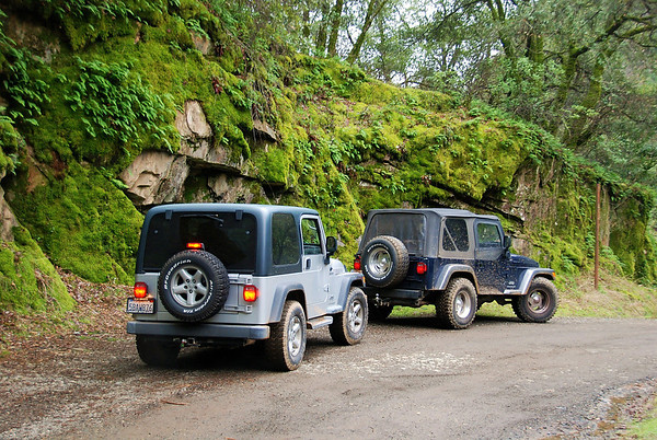 01-08-11 Jeeps Forest Hill-Mosquito Ridge