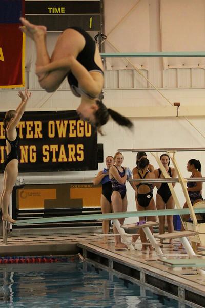 11 11 03 Meg at STAC Diving