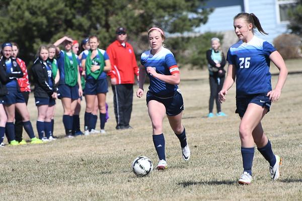 Varsity Girls Soccer vs Seward