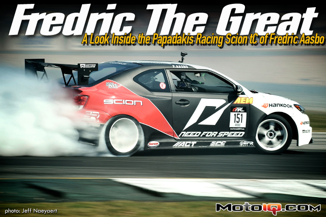 Fredric The Great, a Look Inside the Papadakis Racing Scion tC of Fredric Aasbo