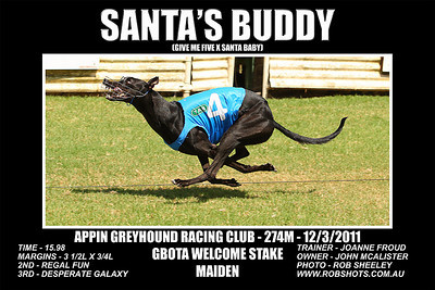Appin Greyhounds - 12th March 2011