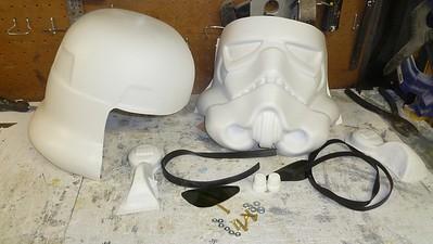 TK Helmet Assembly
